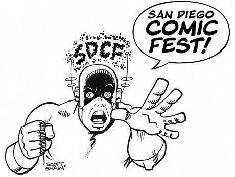 San Diego Comic Fest Logo