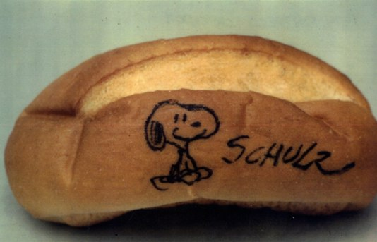 The Charles Schulz Snoopy roll from Comic-Con 1974 (picture by Shel Dorf courtesy of Matt Lorentz)