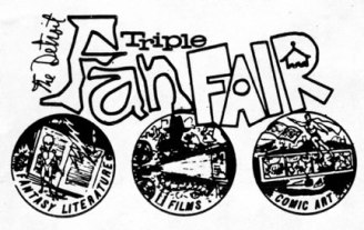 Detroit Triple Fan Fair Logo Designed by Shel Dorf